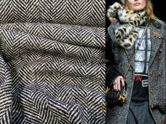 Пальтовая - твид Dolce&Gabbana